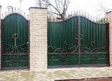 Кованый забор - изделие 26