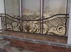 Кованый бортик для окна - изделие 116
