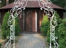 Кованая арка 4