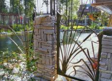 Кованый забор - изделие 51