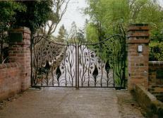 Кованые ворота - Изделие 46