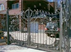 Кованые ворота - Изделие 50