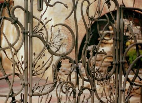 Кованый забор - изделие 45