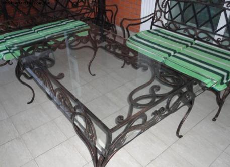 Кованый стол - Изделие 5