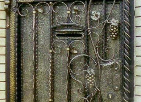 Кованый забор - изделие 53
