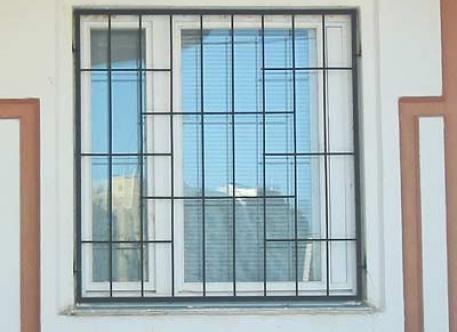 Кованая решетка на окна - изделие 39