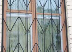 Кованая решетка на окна - изделие 40