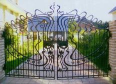 Кованые ворота - изделие 52