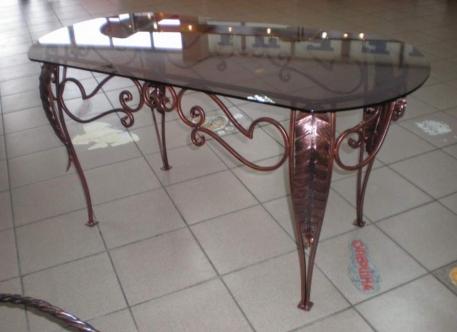 Овальный кованый стол - Изделие 4